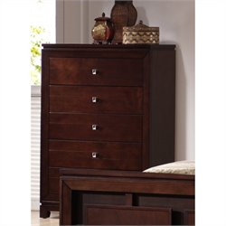 Picket House Furnishings London Chest in Warm Cherry
