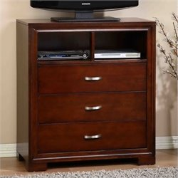 Picket House Furnishings Raven Media Chest in Espresso