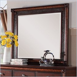 Elements Regent Mirror in Deep Rich Cherry