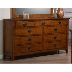 Elements Trudy Dresser in Chestnut