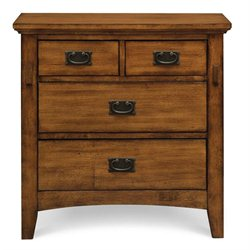 Elements Trudy Nightstand in Chestnut