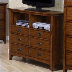 Elements Trudy TV Stand in Chestnut