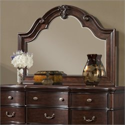 Picket House Furnishings Tabasco Mirror in Rich Cherry