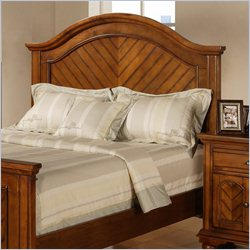 Elements Brook Twin Headboard in Warm Chestnut - Queen