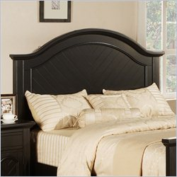 Elements Brook Panel Headboard in Black - Twin