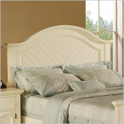 Elements Brook Panel Headboard in White - King