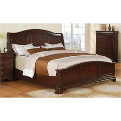 Elements Cameron Bed in Cherry
