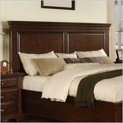 Elements Canton Panel Headboard in Cherry - Queen