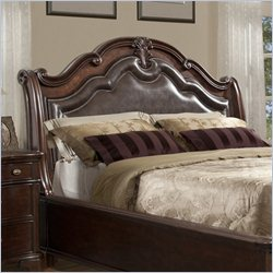 Elements Tabasco Sleigh Headboard in Cherry - King