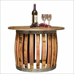 Napa East Collection Stave and Hoop Coffee Table