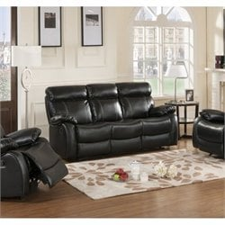 Primo International Parisian Chateau Reclining Sofa in Night