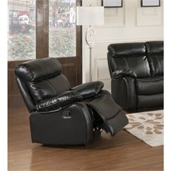 Primo International Parisian Chateau Rocker Recliner in Night