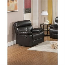 Primo International Parisian Rouquette Leather Rocker Recliner