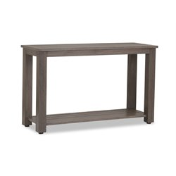 Sunset West Laguna Patio Sofa Table in Driftwood