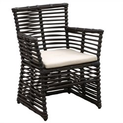 Sunset West Venice Dining Chair in Chocolate