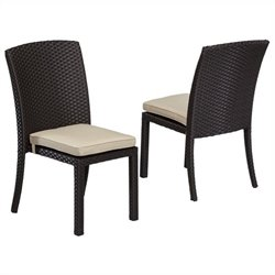 Sunset West Solana Dining Chair in Chocolate