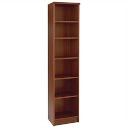 Jesper Office 100 Collection Narrow Bookcase in Cherry