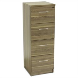 Jesper Office 100 Collection High Cabinet in Walnut