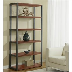 Jesper Office 100 Parson Collection Open High Bookcase in Cherry