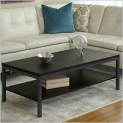 Jesper Office 100 Parson Collection Coffee Table in Espresso