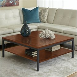 Jesper Office 100 Parson Collection Square Coffee Table in Cherry