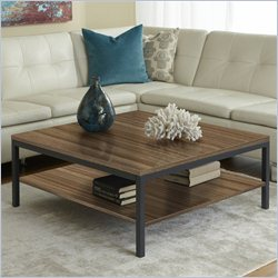Jesper Office 100 Parson Collection Square Coffee Table in Walnut