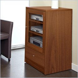 Jesper Office 100 Entertainment Collection Media Cabinet in Cherry