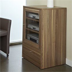 Jesper Office 100 Entertainment Collection Media Cabinet in Walnut