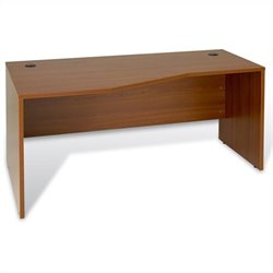 Jesper Office 100 Collection Crescent Desk Left in Cherry