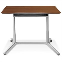 Jesper Office 200 Collection Height Adjustable Standing Desk in Cherry
