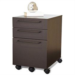 Jesper Office 200 Collection File Cabinet in Espresso