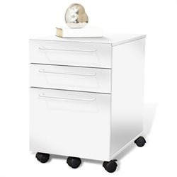 Jesper Office 200 Collection File Cabinet in White