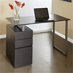 Jesper Office 200 Collection Study Desk in Espresso