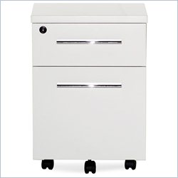 Jesper Office 500 Collection Mobile Pedestal in White