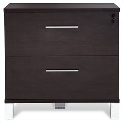 Jesper Office 500 Collection Lateral File Cabinet in Espresso