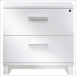 Jesper Office 500 Collection Lateral File Cabinet in White