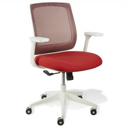 Jesper Office Camilla Mesh Chair in Red