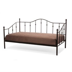 Jolin Metal Twin Daybed in Dark Bronze