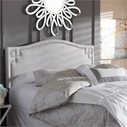 Aubrey Upholstered King Headboard in Grayish Beige