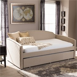 Lanny Twin Daybed in Beige