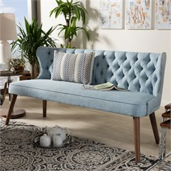Scarlett Sofa in Light Blue