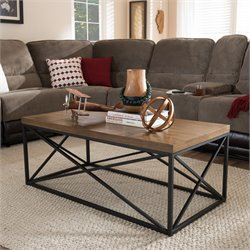 Holden Coffee Table in Antique Bronze