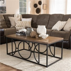 Palmer Coffee Table in Antique Bronze