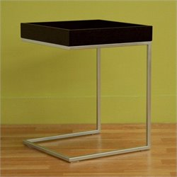 Baxton Studio Modern End Table in Black