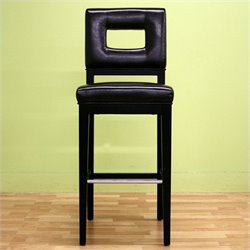 Faustino Barstool in Dark Brown