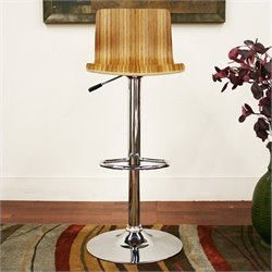 Baxton Studio Lidell Barstool in Nature (Set of 2)