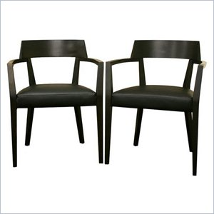 Laine Dining Chair in Wenge (Set of 2)