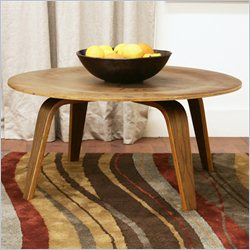 Baxton Studio Harper Coffee Table in Walnut