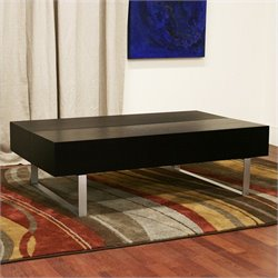 Baxton Studio Noemi Coffee Table in Black