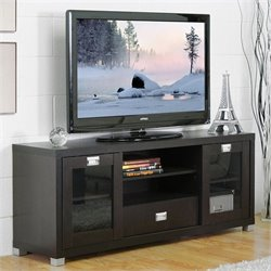 Baxton Studio Matlock TV Stand in Dark Brown